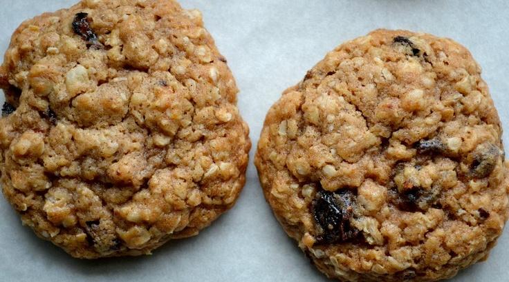 Brown Butter Chai Oatmeal Raisin Cookies.