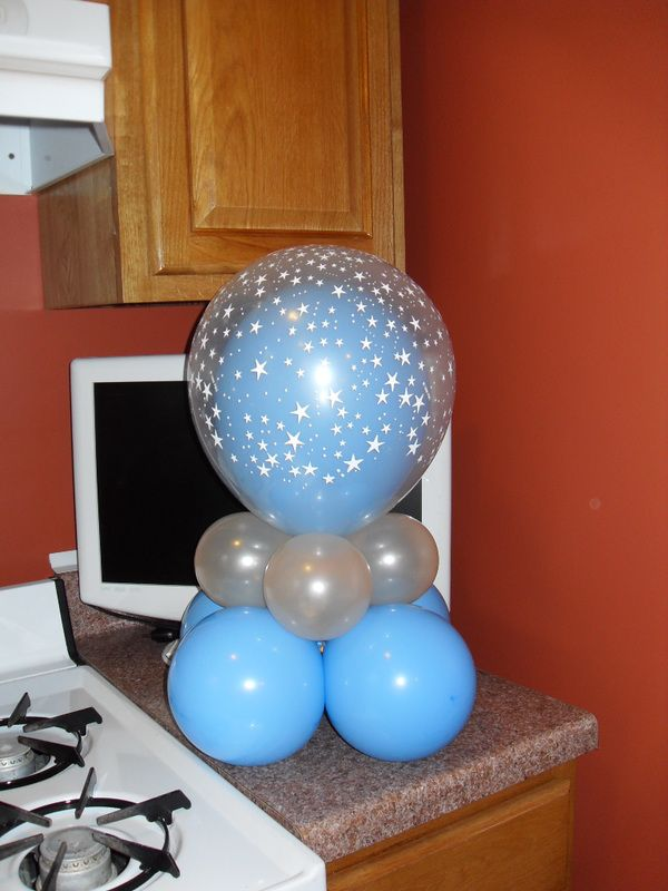 Diy balloon centerpiece google search graduation open house pin