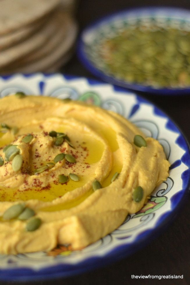Pumpkin Hummus | Recipe
