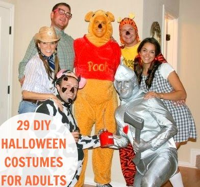 29 DIY Halloween Costumes for Adults