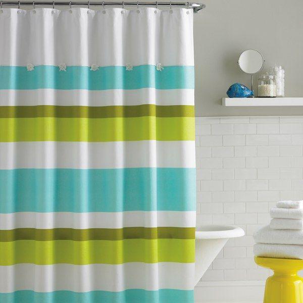 kate spade fabric shower curtain