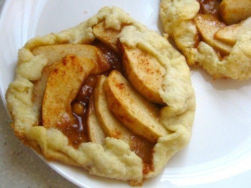 caramel apple galettes | recipes | Pinterest