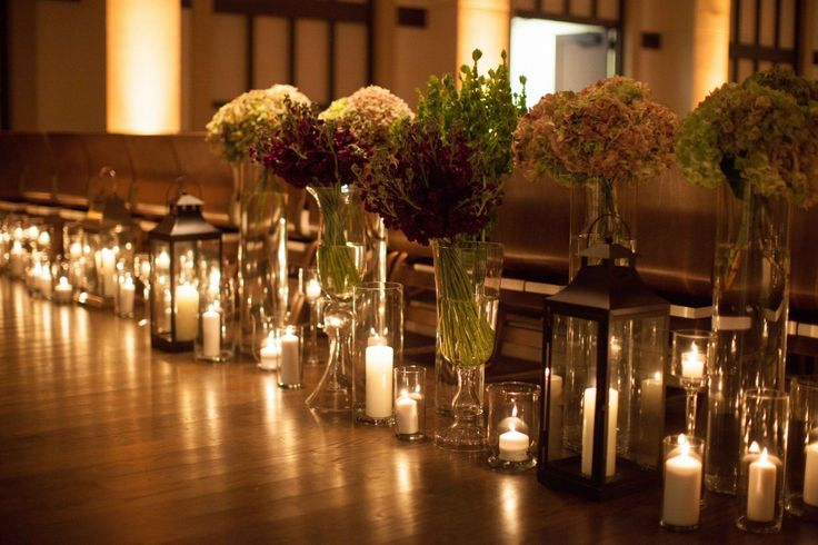 Decoracion Iglesia Boda Velas ~ velas,iglesia  Iluminar y decorar la Iglesia para una boda  Pintere