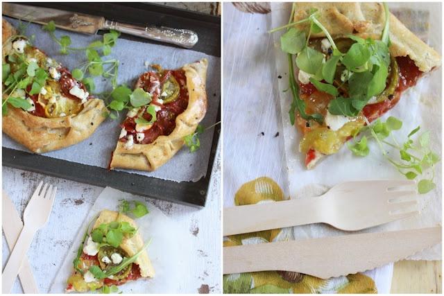 Gluten Free Heirloom Tomato Tart | gluten free SAVORY recipes | Pinte ...