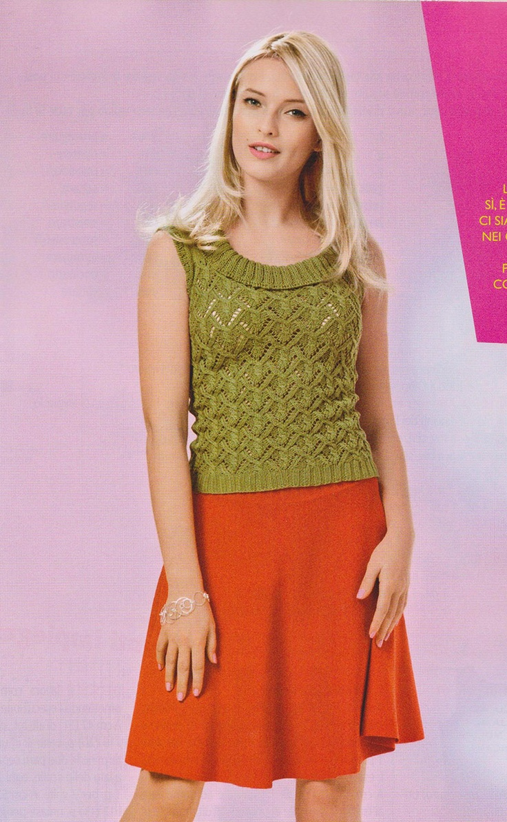 ... by Dayana Knits on Mani di Fata Knitting Crochet Magazine Pinte