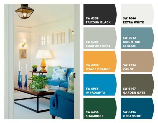 Whole house paint colors ranch love pinterest for Best paint color for entire house
