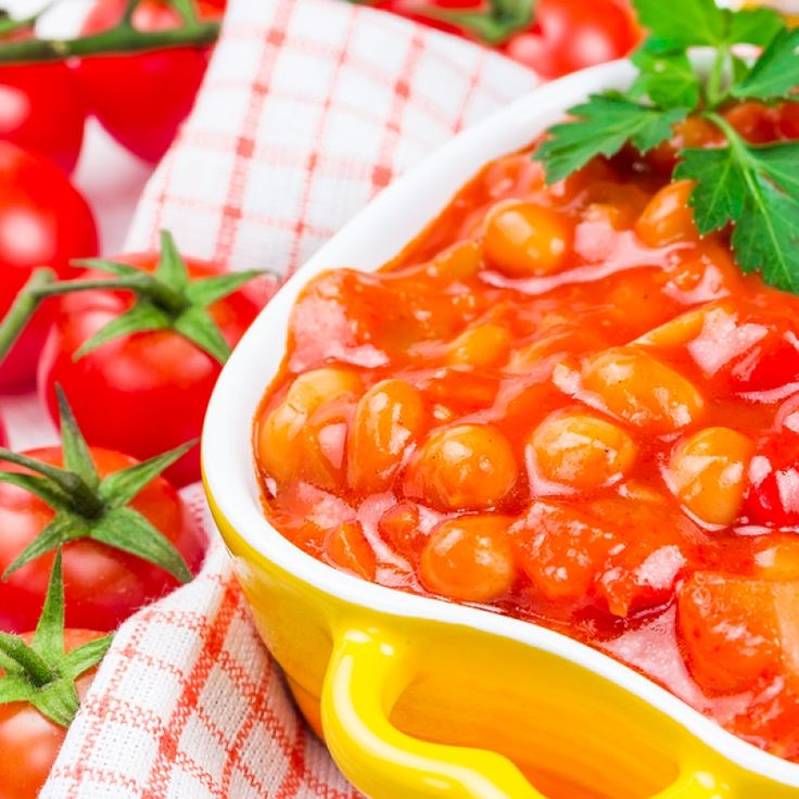 ... baked beans.. Baked Beans in Tomato Sauce Recipe from Grandmothers
