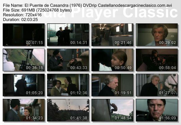 Captura película El puente de Casandra (1976)