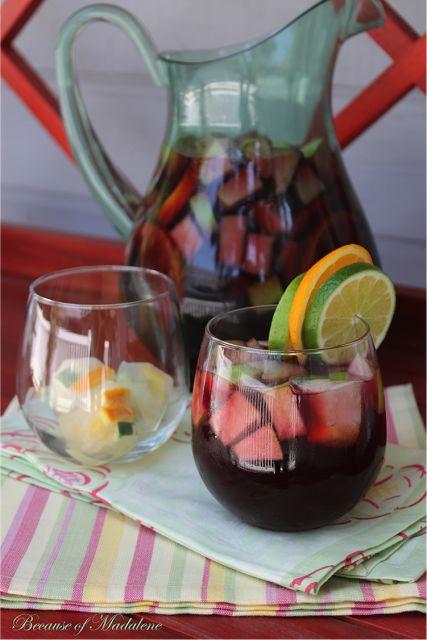 Cranberry Citrus Sangria | Cheers - drinks | Pinterest