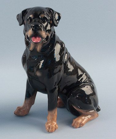 rottweiler sculpture. Black Bedroom Furniture Sets. Home Design Ideas