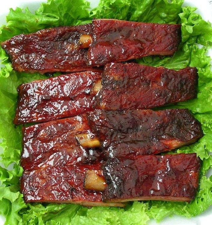 Crock Pot BEST EVER BBQ Ribs | Food | Pinterest