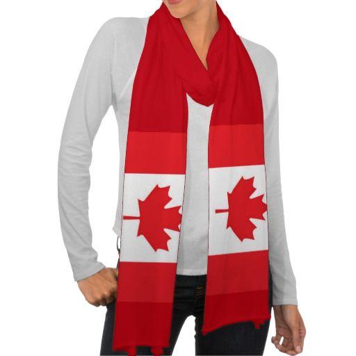 canada flag scarf scarf scarves