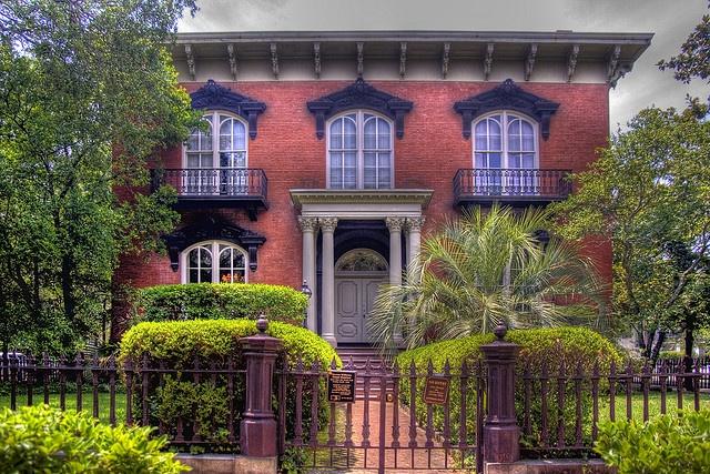 Mercer home savannah ga the south pinterest for House tours in savannah ga