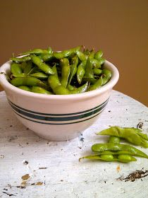 Sautéed garlic edamame | Get In Mah Belleh! | Pinterest