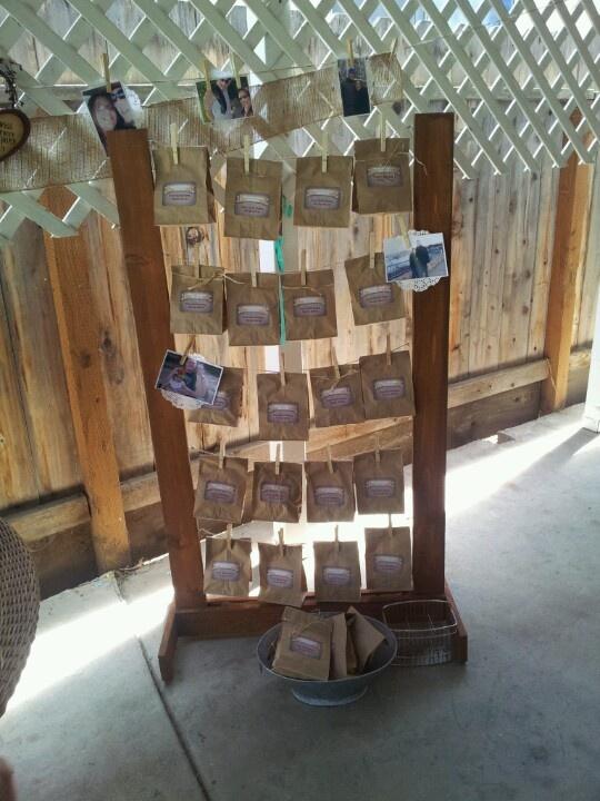 pin by cilla guerrero on rustic bridal shower ideas. Black Bedroom Furniture Sets. Home Design Ideas