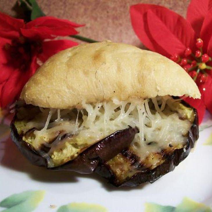 Eggplant and Mozzarella Panini | I Need To Cook This! | Pinterest