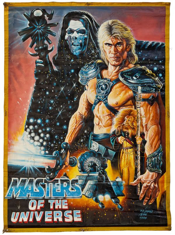 Movie Poster | He-Man, She-Ra And The Masters of The Universe | Pinte ...