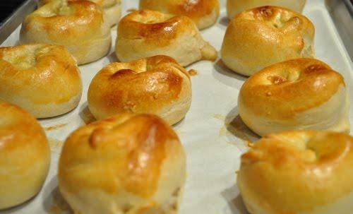 Potato knish...i wish i could make them like Carnegie Deli.