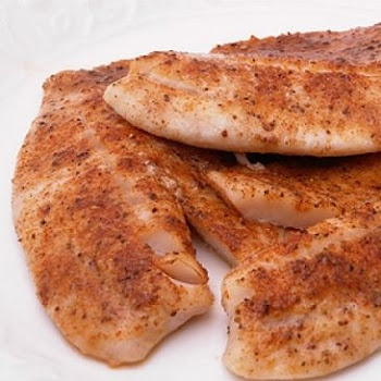 Parmesan Crusted Tilapia | Books Worth Reading | Pinterest