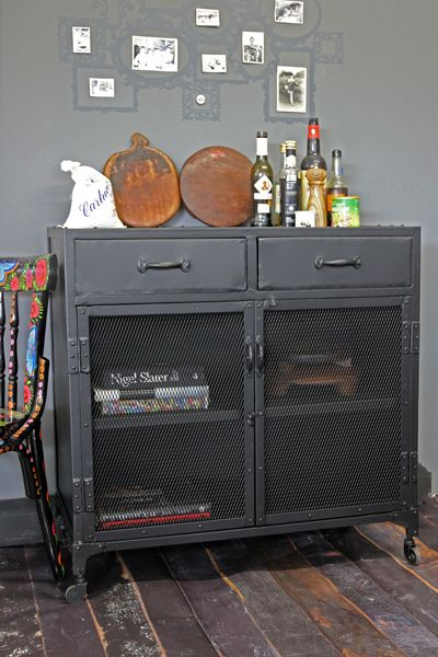 Industrial Kitchen Cabinet Home Pinterest