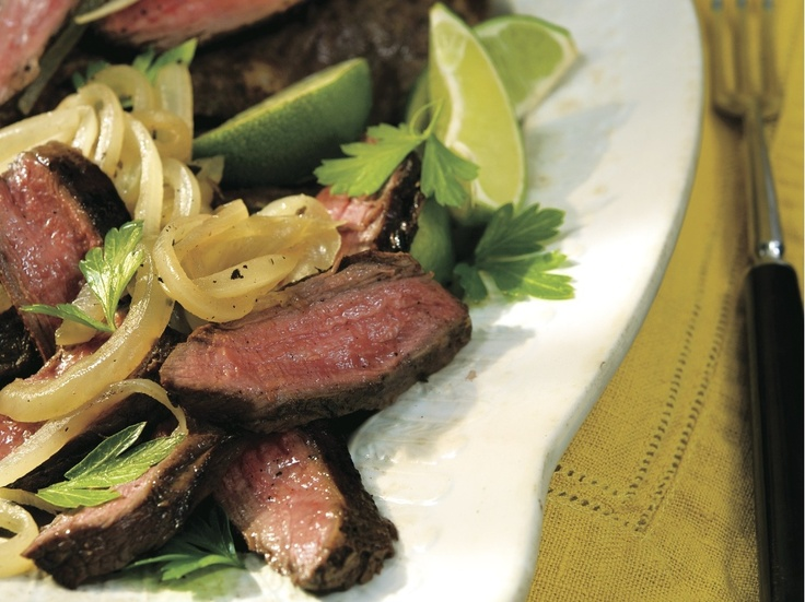 "Seared Cuban-Style Steak"" from Cookstr.com #cookstr"