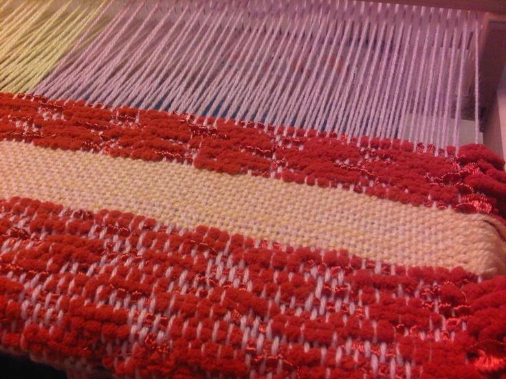 Perbedaan Knitting And Weaving : My first knitting yarn weaving pinterest