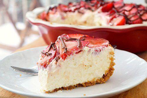 Strawberries and Cream Pie. | Food Coma | Pinterest