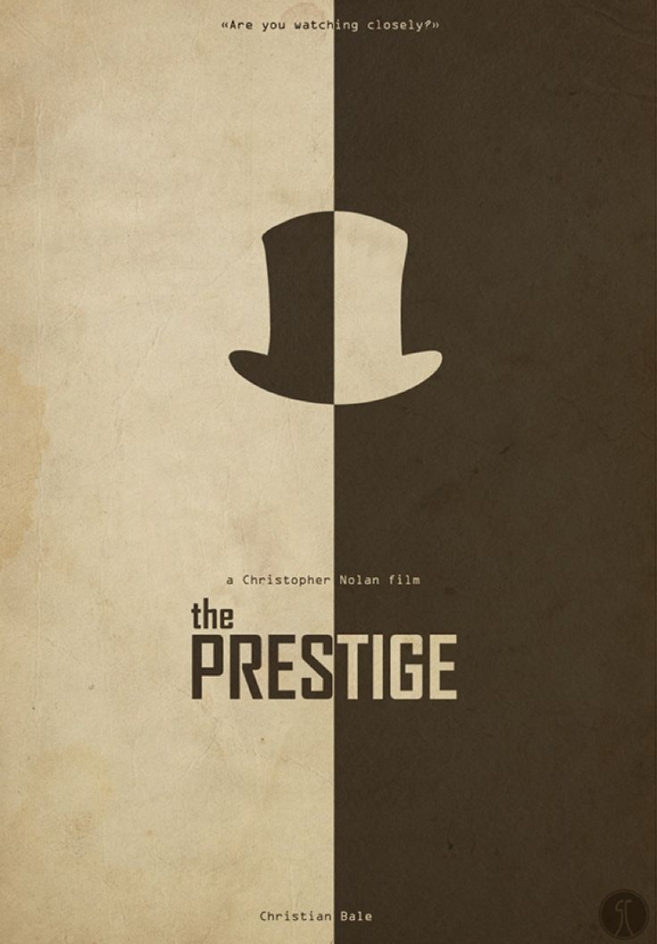 Minimal movie poster