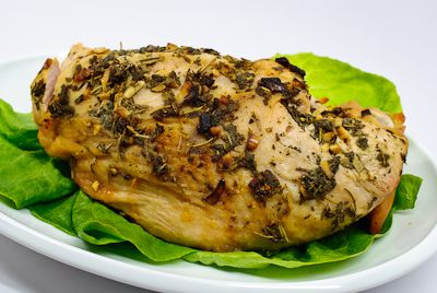 Herb Roasted Turkey Breast | Chicken/Turkey | Pinterest