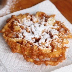 Easy Funnel Cakes | GREAT FOOD IDEAS | Pinterest