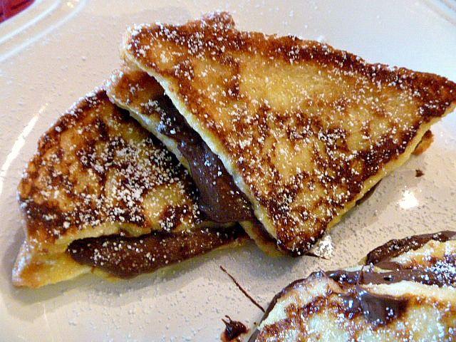 Nutella French Toast | Breakfast! | Pinterest