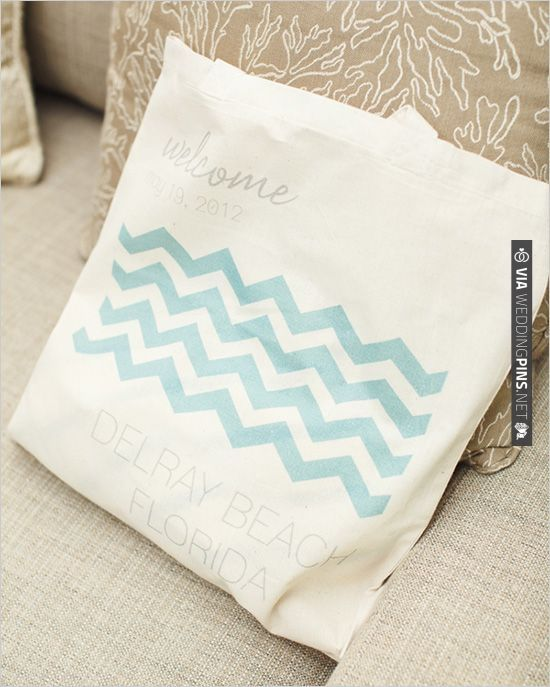 Wedding Welcome Bag Ideas Pinterest : chevron welcome bag CHECK OUT MORE IDEAS AT WEDDINGPINS.NET # ...