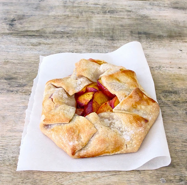 Peach Crostata | The Satisfying Conclusion | Pinterest