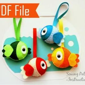 SEWING FISH PATTERN - CLOTHES PATTERNS