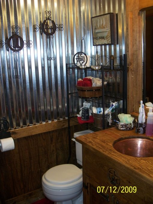 Old western saloon style bathroom for the home pinterest for Western style bathrooms