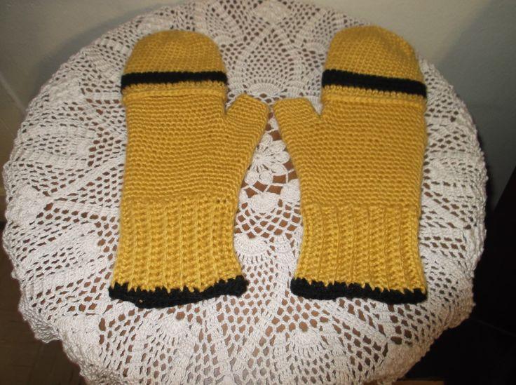 Fingerless gloves MY CROCHET WORK Pinterest
