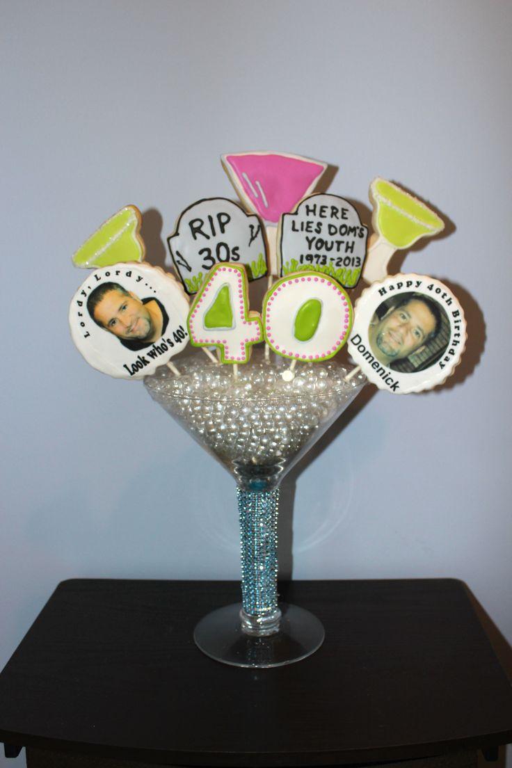 Th birthday cookie centerpiece edible centerpieces