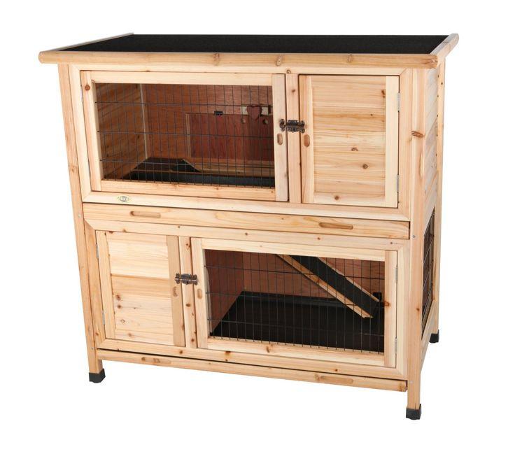 Indoor rabbit cage plans story rabbit hutch m trixie for Design indoor rabbit cages