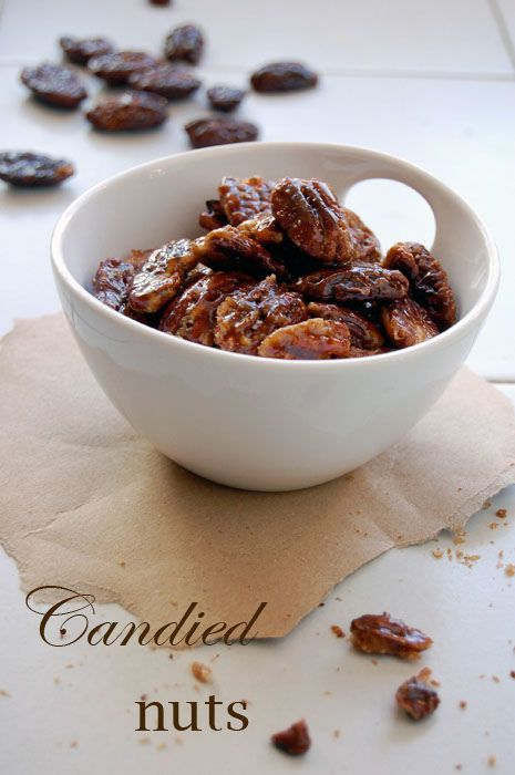 candied nuts | Appetizers | Pinterest