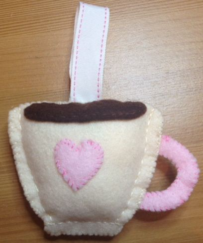 Mother's Day Tea Cup Felt Craft