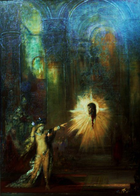 a painting analysis of the apparition by gustave moreau Artist gustave moreau painted 'the apparition', also known as the 'dance of  salome', in 1874-76 the oil painting is a depiction of the biblical legend of  salome, in which herod's step daughter salome requests the  analysis and  reviews.