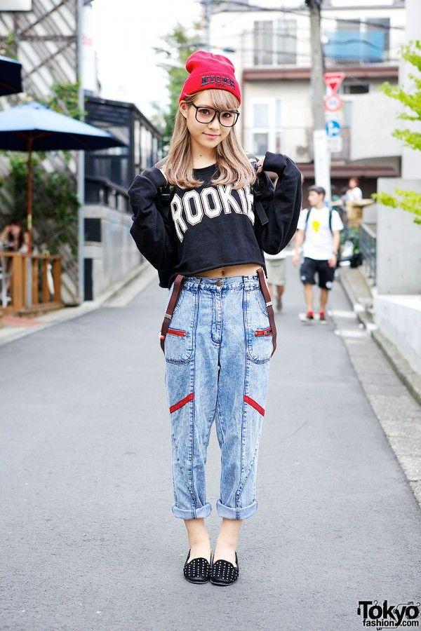 Japanese Street Fashion Jeans
