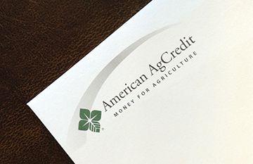 american agcredit printed envelope