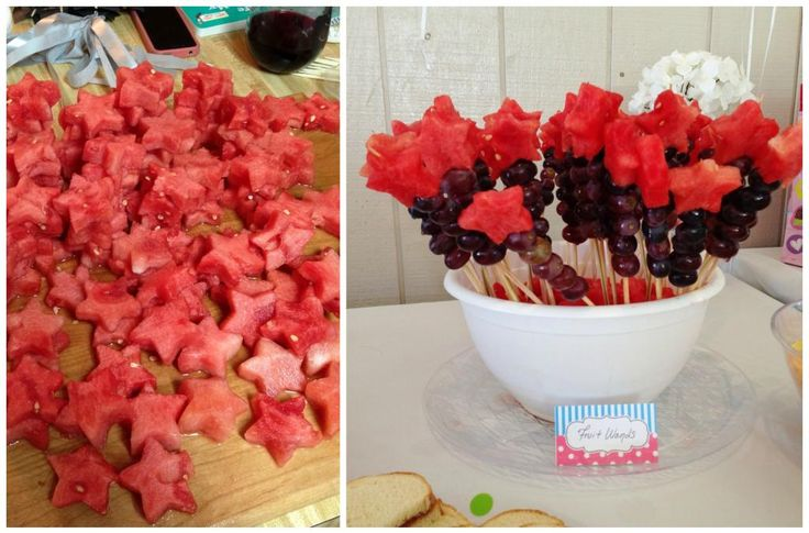 Fruit wands | Riley's 2nd birthday | Pinterest