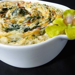 spinach, cheddar, & mashed potatoes - top with bacon or broccoli for ...