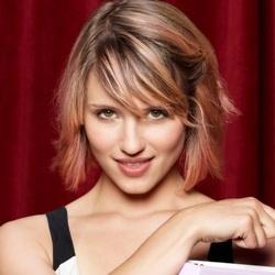 Glee Quinn Fabray Short Hair