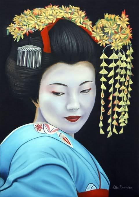 Geisha Girl 1 Geisha Girls Pinterest