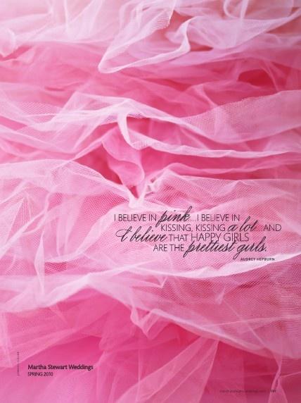audrey hepburn and pink!