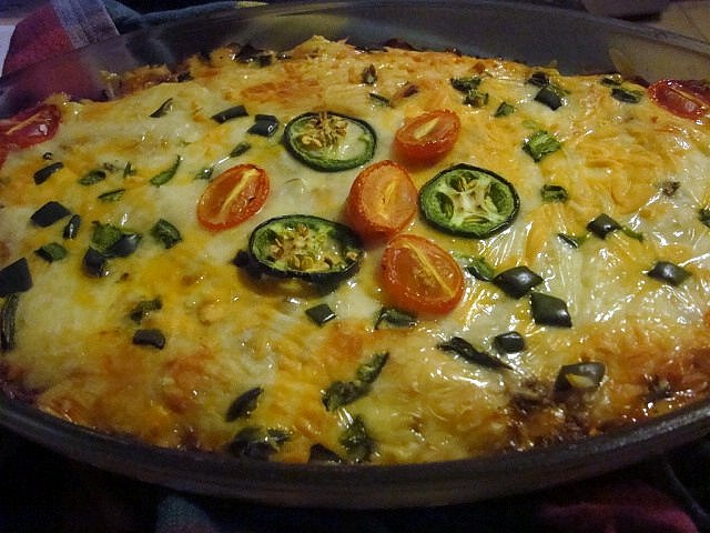 Hot Taco Dip | Condiments and Dips | Pinterest