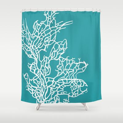 Coral reef 8 shower curtain by monika strigel 68 00
